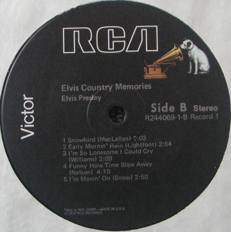 COUNTRY MEMORIES 2c34