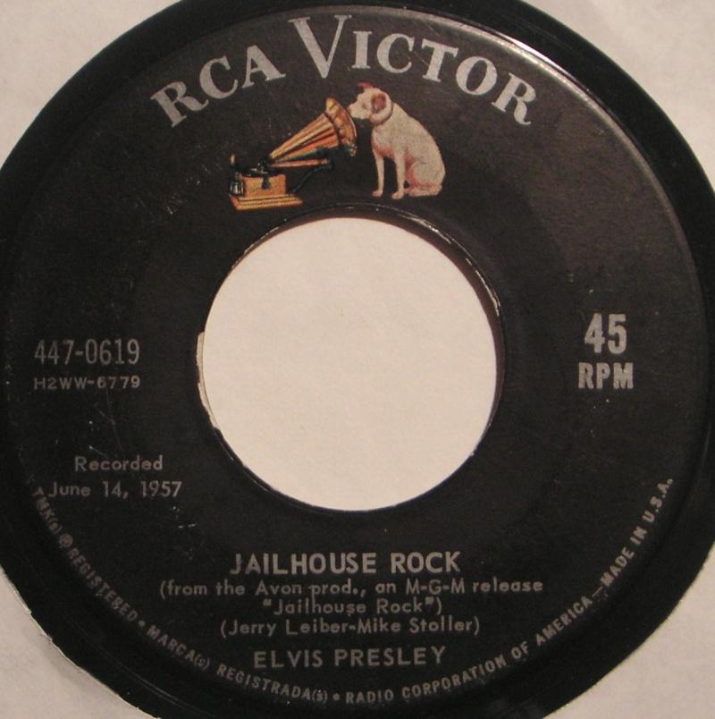 Jailhouse Rock / Treat Me Nice 3a22