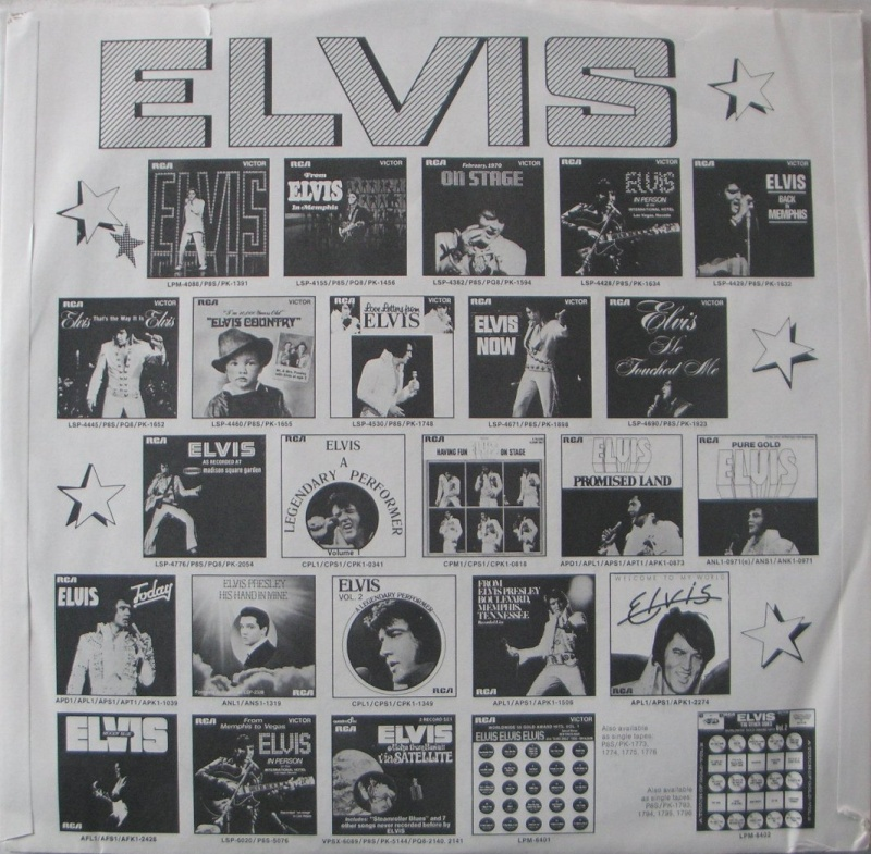 FROM ELVIS WITH LOVE 3b19