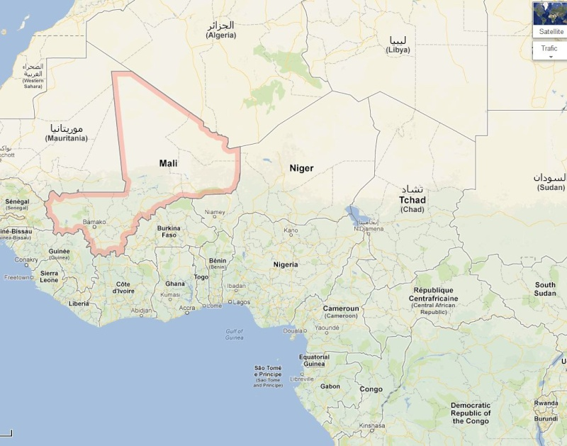 HOLLANDE ET LE MALI opération SERVAL - Page 2 Mali_a10