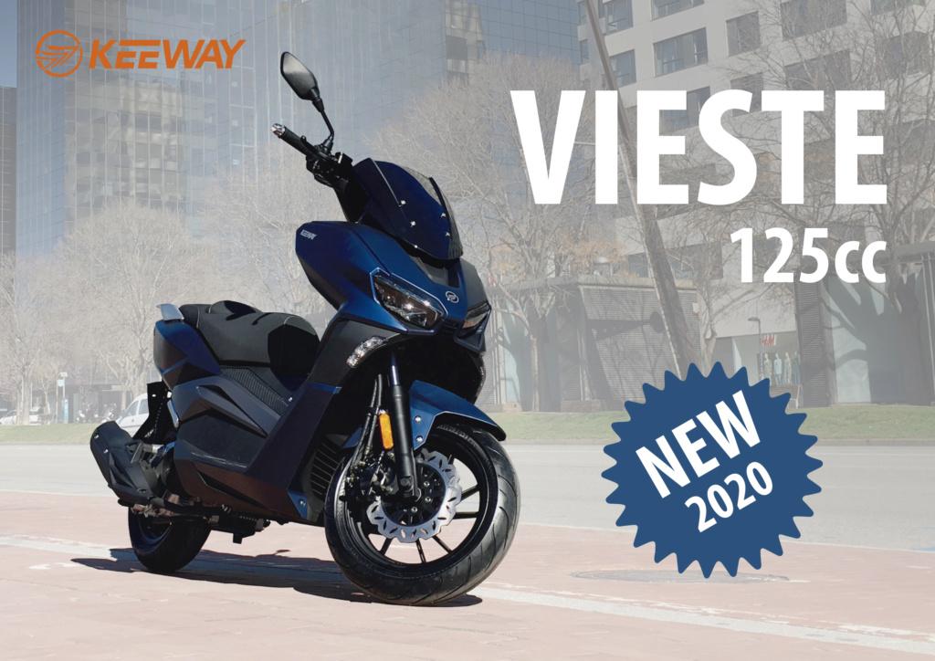 Nuevo scooter Keeway Vieste 125 Vieste11