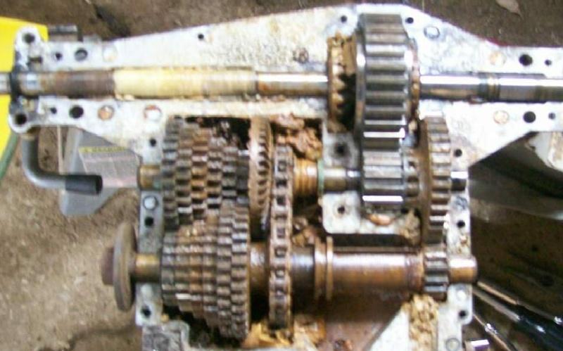 transaxle stuck in third gear Axle110