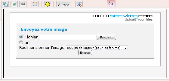 Comment ajouter une image à vos messages ? Help11