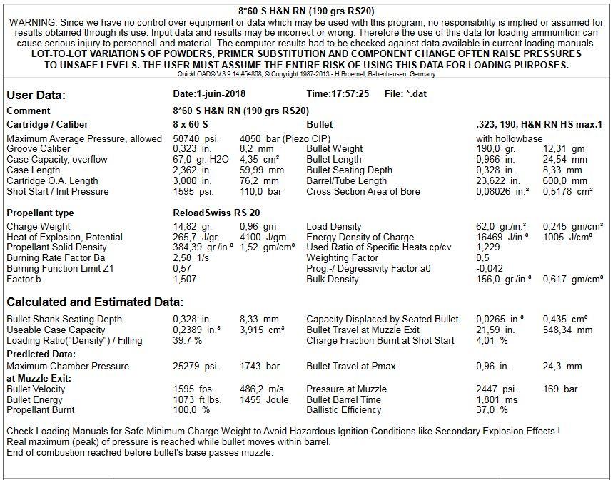 Rechargement 8x57 JS Reduit - Page 3 Ql-110