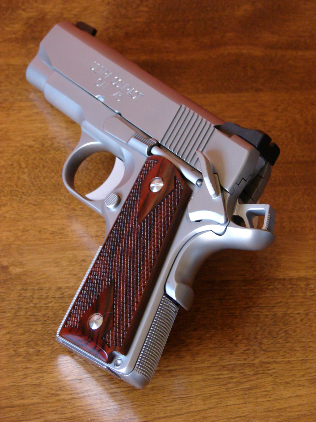 What make model and caliber pistol due you carry every day? Spring10