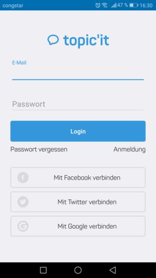Foren-App Screen11