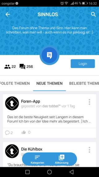 Foren-App Screen12