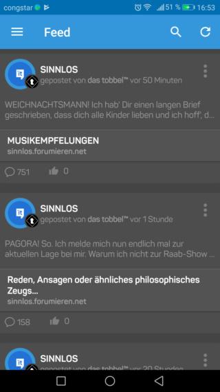 Foren-App Screen14