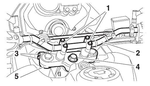 fourche - [Résolu] XT660Z 2010 : Réglages tés de fourche Captur45