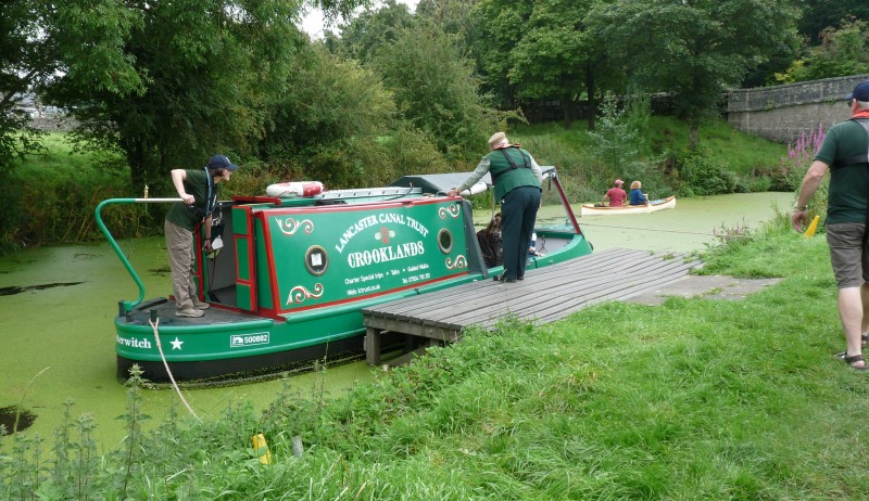 Lancaster Canal Trust Volunteers 26_aug12