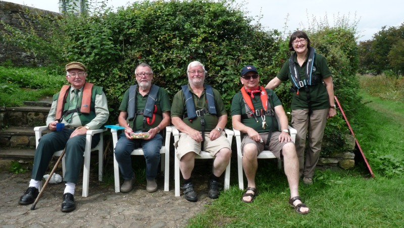 Lancaster Canal Trust Volunteers 26_aug13
