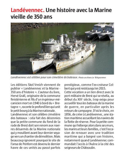 [Le cimetière des bateaux et du patrimoine de la Marine] Le cimetière de LANDEVENNEC - Page 27 Landev10