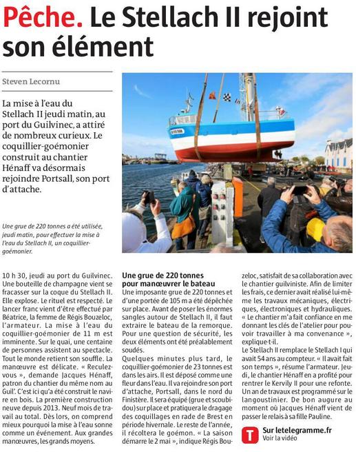 [Activité des ports] Le Guilvinec - Page 9 Stella10