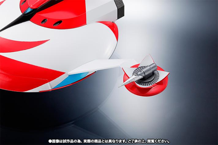 "Super Robot Chogokin : Grendizer (Spazer + Package Spazer ""Anime"") Item_030"