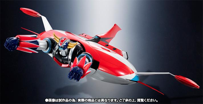 "Super Robot Chogokin : Grendizer (Spazer + Package Spazer ""Anime"") Item_033"