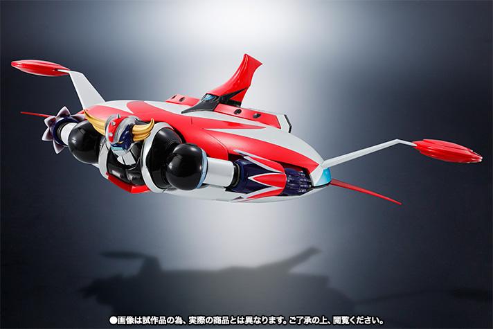 "Super Robot Chogokin : Grendizer (Spazer + Package Spazer ""Anime"") Item_034"