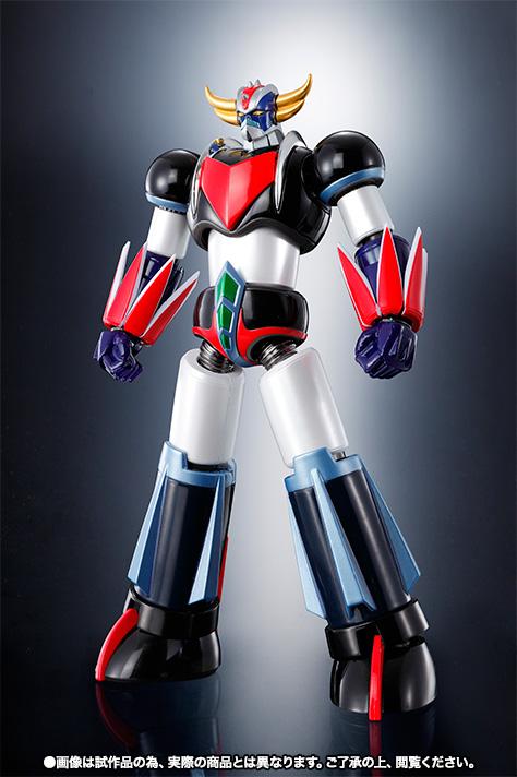 "Super Robot Chogokin : Grendizer (Spazer + Package Spazer ""Anime"") Item_035"