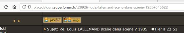 Louis LALLEMAND scène dans aciérie ? 1935 2018-017