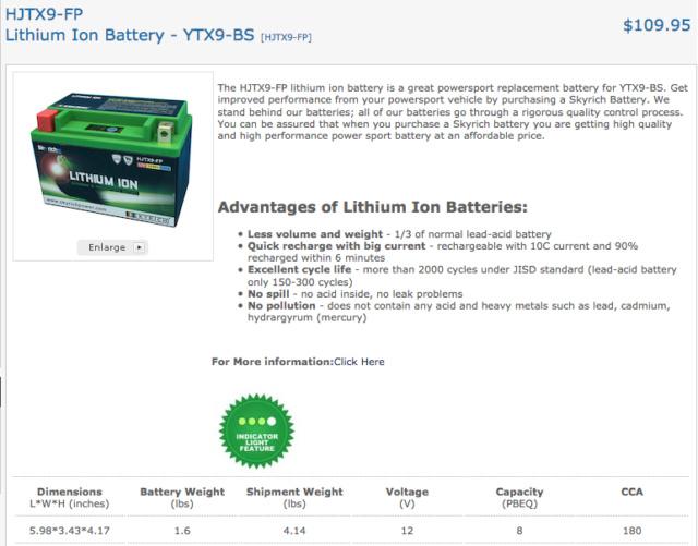 Batterie Lithium Captur54