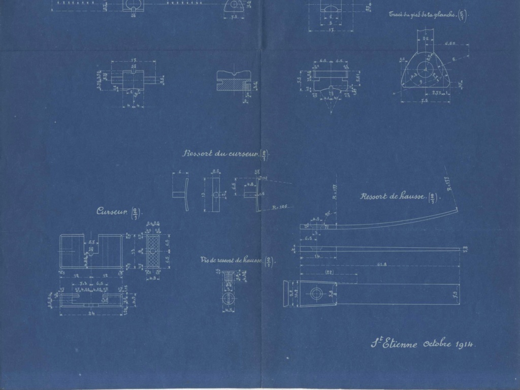 Hausse du Fusil Mle 1874 M.80 M.14 020710