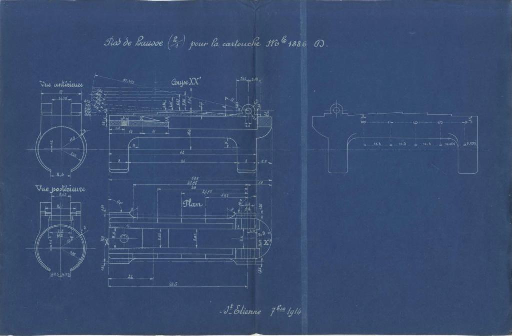 Hausse du Fusil Mle 1874 M.80 M.14 020810