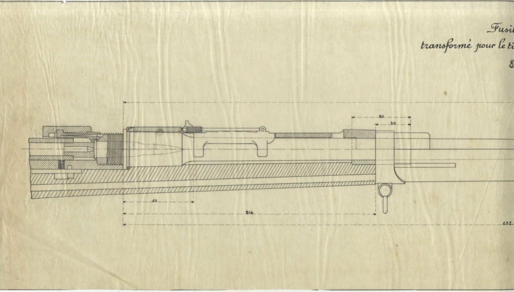 Hausse du Fusil Mle 1874 M.80 M.14 027910