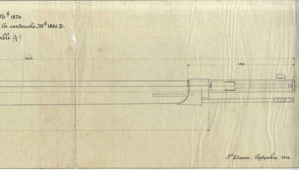 Hausse du Fusil Mle 1874 M.80 M.14 028010