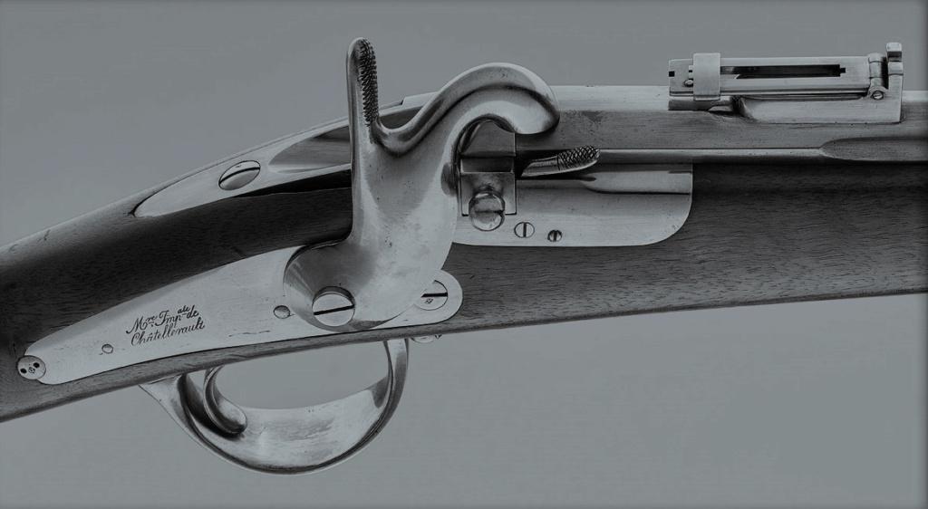 Clerville - un mousqueton se chargeant par la culasse pour la cavalerie Clervi11