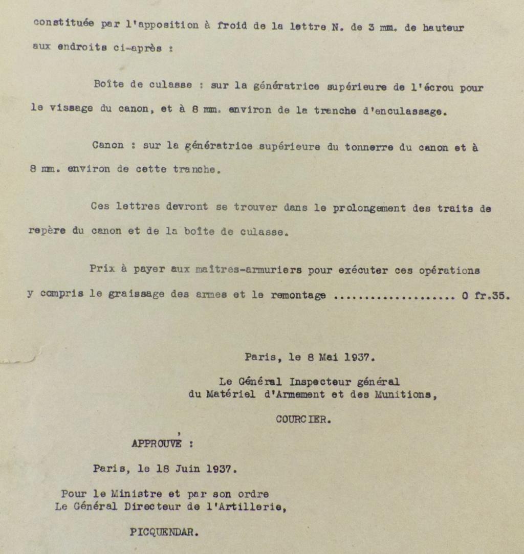 Mousquetons en 1925 (points de détail) - Page 2 Imgp3319