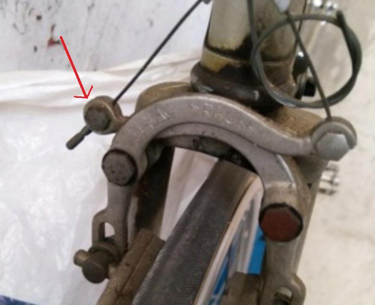 Remplacement frein vieux vélo de route Freins10