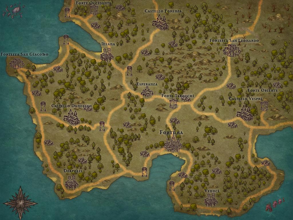 Communautés et royaumes indépendants Map410