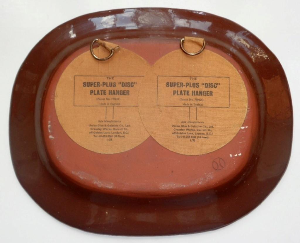 1960's SLIP WARE CHARGER Slip210