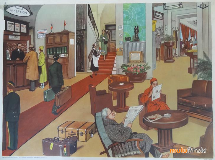 Affiches (tableaux)  pédagogiques Editions Rossignol 1946 - 1970s 004a7610