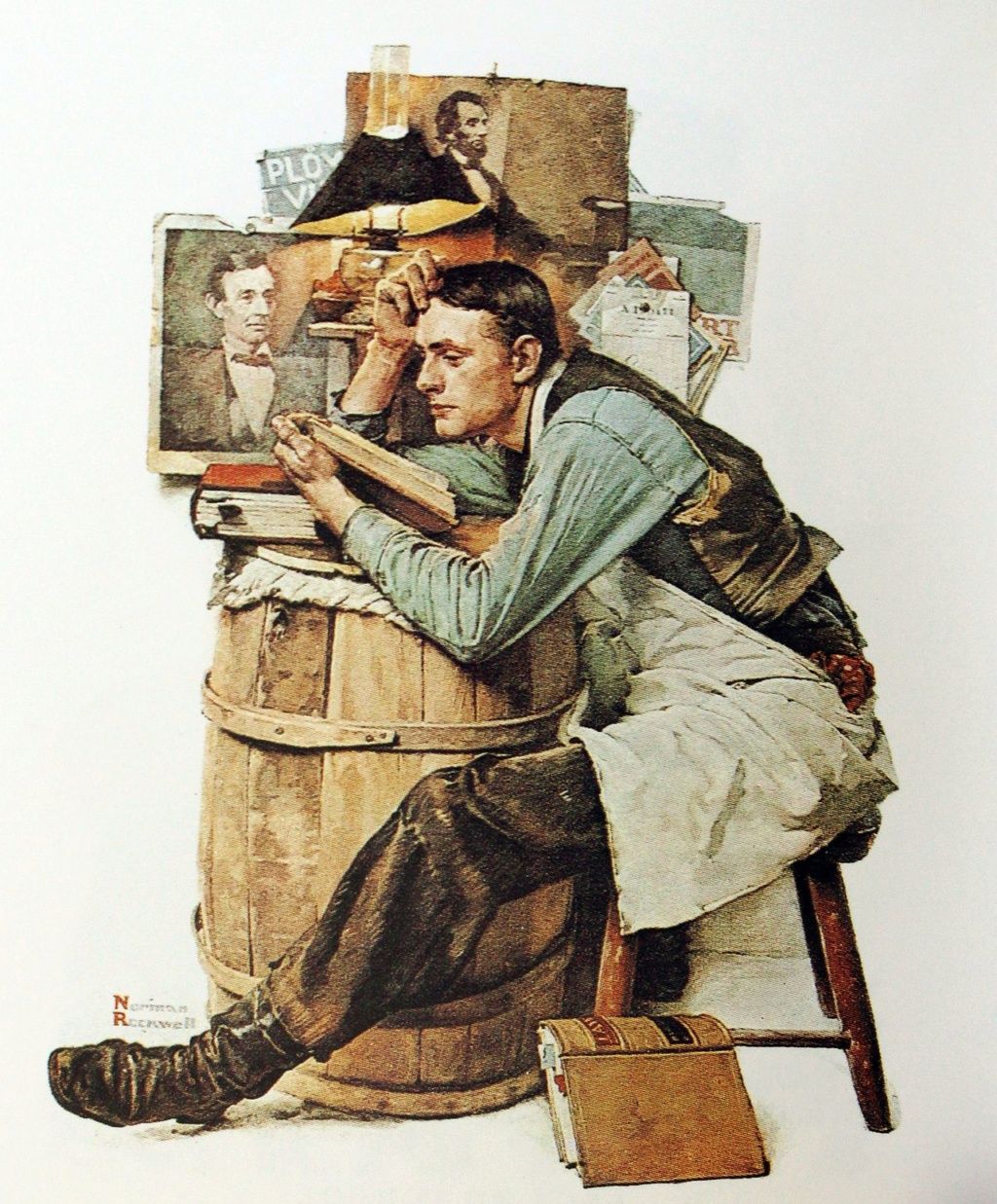 Norman Rockwell - painter (1894 -1978) 00f63d10