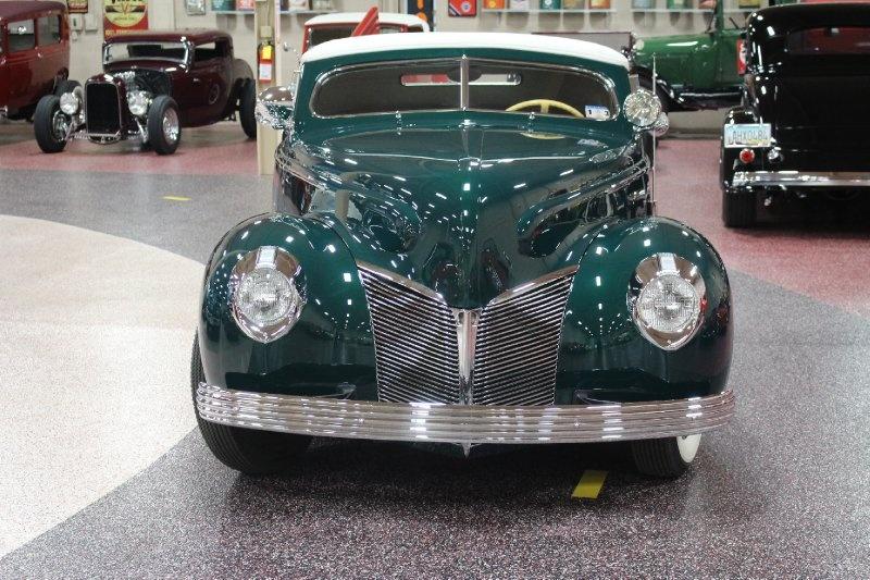 1940 Mercury Convertible - Charles Marr - Carl Morton -  Valley Custom Shop 0211
