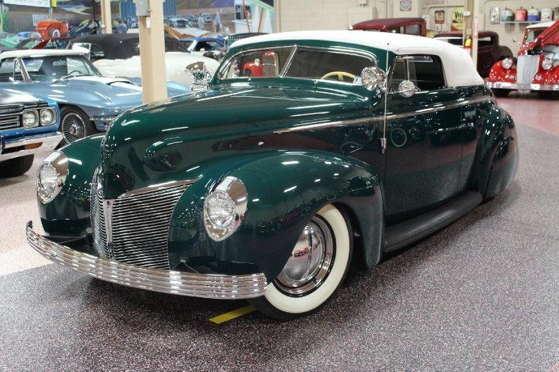 1940 Mercury Convertible - Charles Marr - Carl Morton -  Valley Custom Shop 0311
