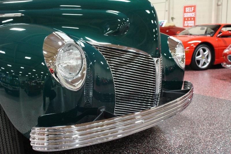 1940 Mercury Convertible - Charles Marr - Carl Morton -  Valley Custom Shop 0611