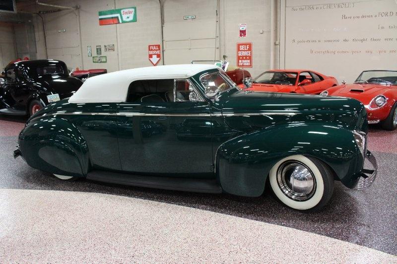 1940 Mercury Convertible - Charles Marr - Carl Morton -  Valley Custom Shop 0811