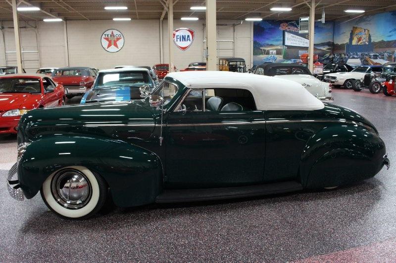 1940 Mercury Convertible - Charles Marr - Carl Morton -  Valley Custom Shop 0911