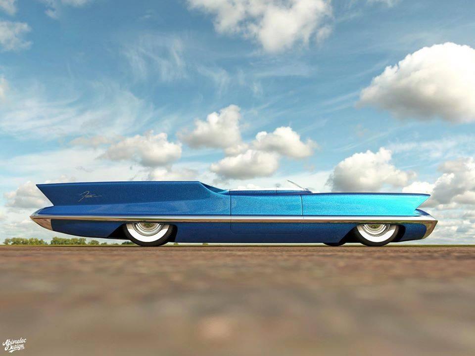 Lincoln Futura 1955 10047610