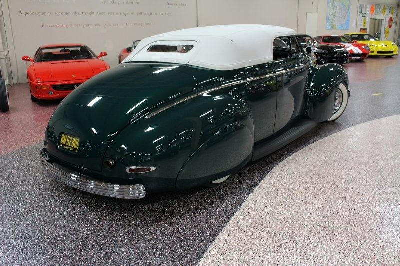 1940 Mercury Convertible - Charles Marr - Carl Morton -  Valley Custom Shop 1014