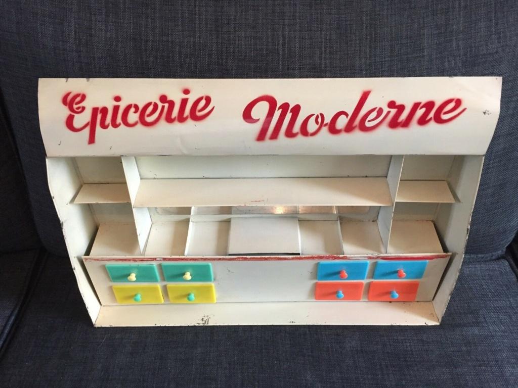 Epicerie jouet années 50 - Grocery toys vintage 1025