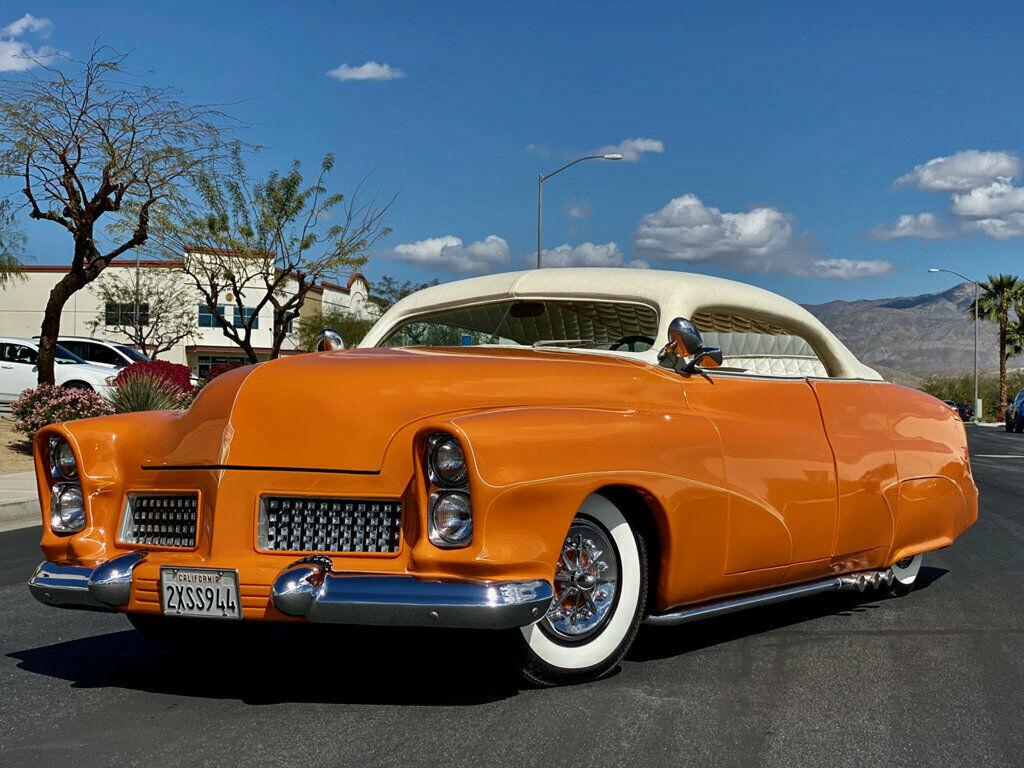 "1951 Mercury Custom Sedan BUILT BY HALL OF FAME KUSTOMIZER FRANK DE ROSA  INDUSTRY KNOWN AS ""MERCURY 4"" 1036"
