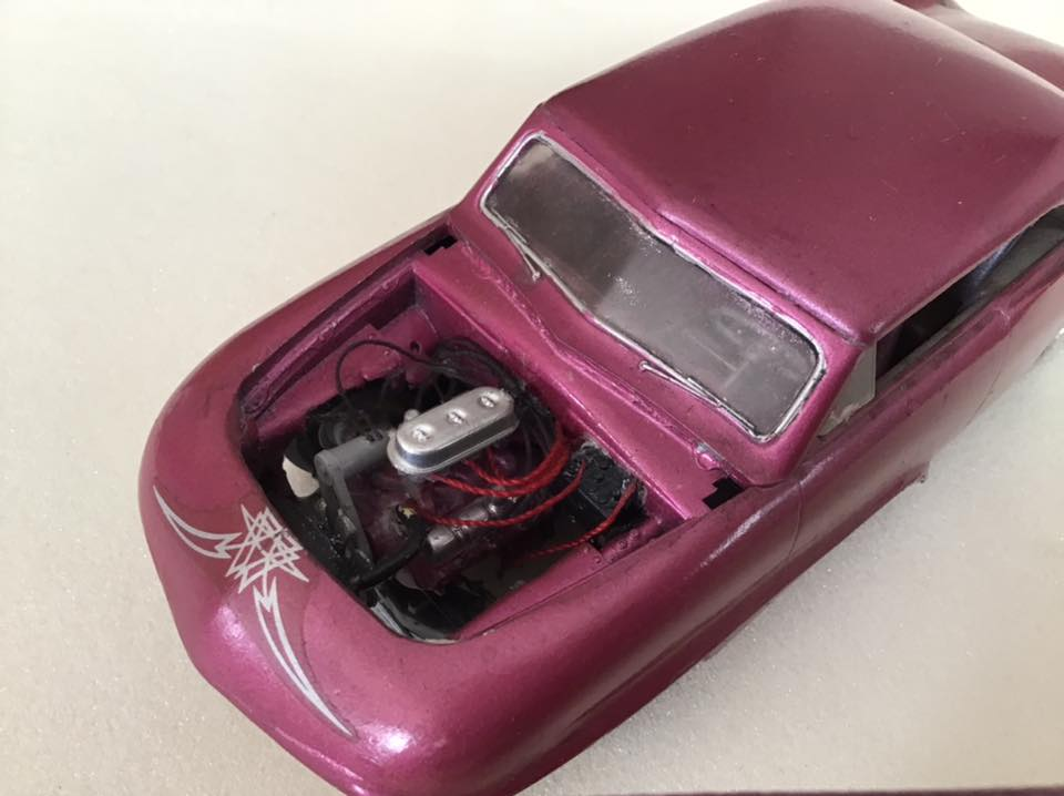 1949 Ford coupe - Customizing kit - Trophie series - 1/25 scale - Amt -  10449510