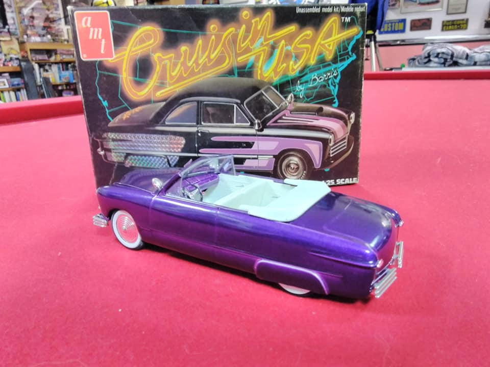 1949 Ford coupe - Customizing kit - Trophie series - 1/25 scale - Amt -  10449610