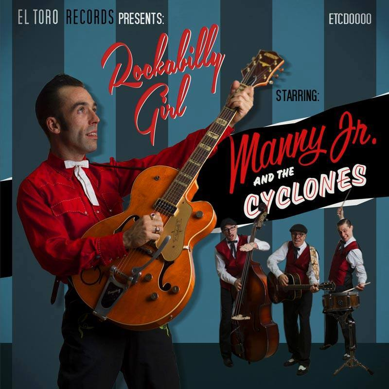 Manny Jr. and the Cyclones - Quebec City,Canada,Rockabilly band 10475410