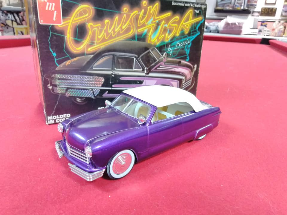 1949 Ford coupe - Customizing kit - Trophie series - 1/25 scale - Amt -  10564810
