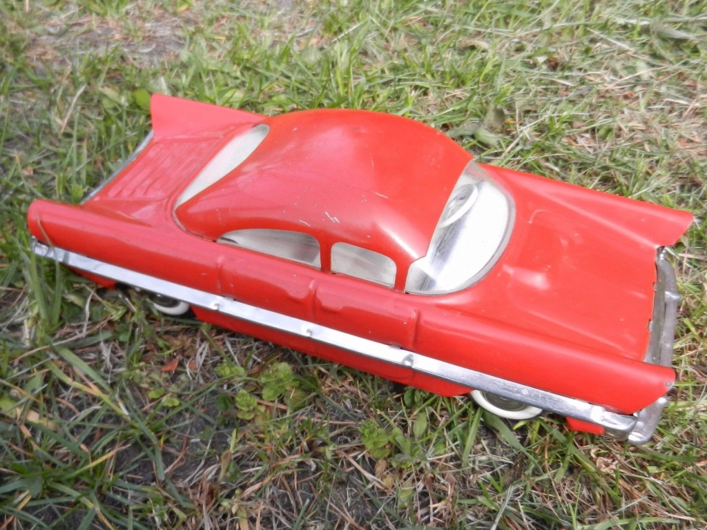 Old Soviet Rusian Vtg USSR TOY - gm motorama concept car style 10g10