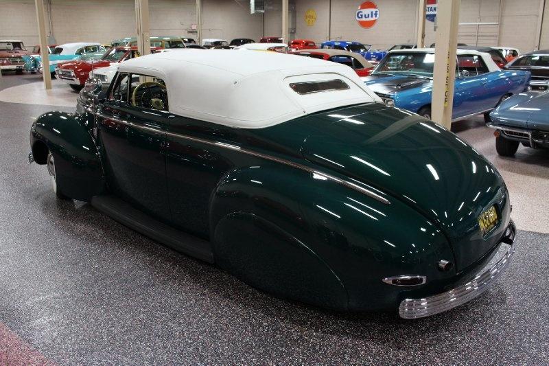 1940 Mercury Convertible - Charles Marr - Carl Morton -  Valley Custom Shop 1114