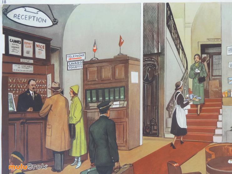 Affiches (tableaux)  pédagogiques Editions Rossignol 1946 - 1970s 11155710